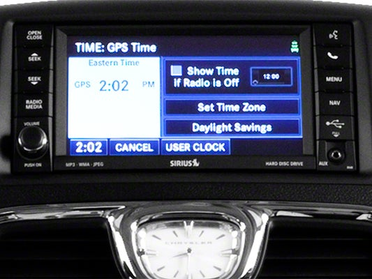 2014 chrysler town and country navigation system manual